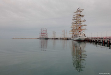 Фоторепортаж Сочи SCF Black Sea Tall Ships Regatta 2014.